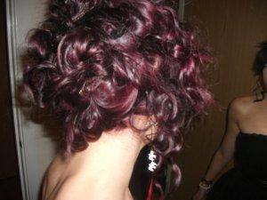 Updo (when my hair was still purple!!)