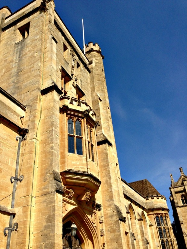 So THIS is where the conference was, Mansfield College